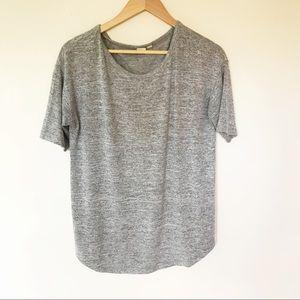 Gap | Gray Oversized Weekend Top